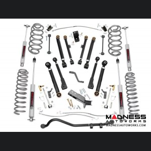 "Jeep Wrangler TJ X-Series Suspension Lift Kit w/ Shocks - 4"" Lift"